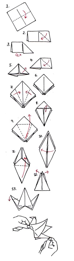 Brilliant Origami Crane Instructions Final1 2040 Digital Llc Wiring Cloud Pendufoxcilixyz