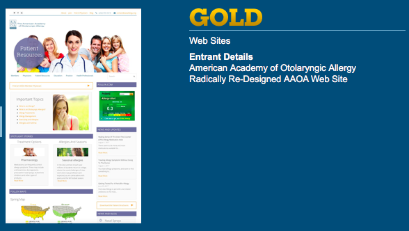 AAOA wins gold from association trends